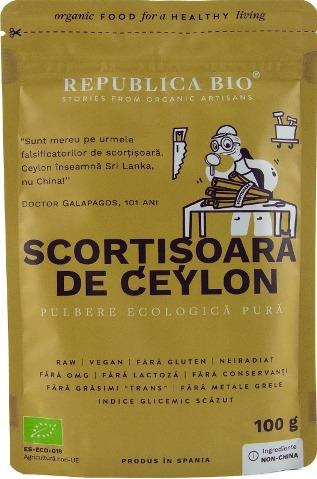 SCORTISOARA DE CEYLON 100G 0