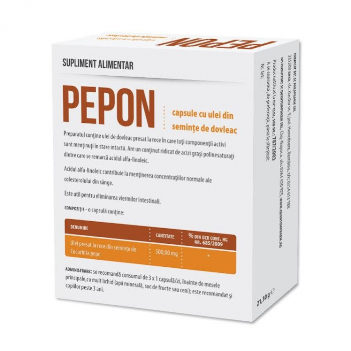ULEI DOVLEAC PEPON 30 CPS [0]