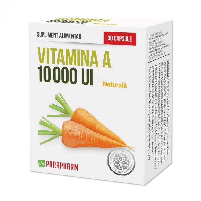 VITAMINA A 10000UI 30 CPS [0]