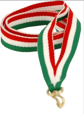 Snur Medalie R-W-GN 0