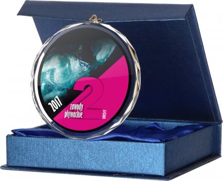 Medalie Sticla 80mm CM0020