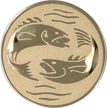 Emblema Medalie Pescuit A56