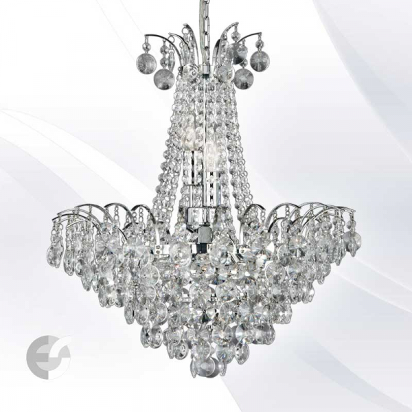 LIMOGES 9071-52CC candelabre cristal diametru 53 cm 6 becuri 0