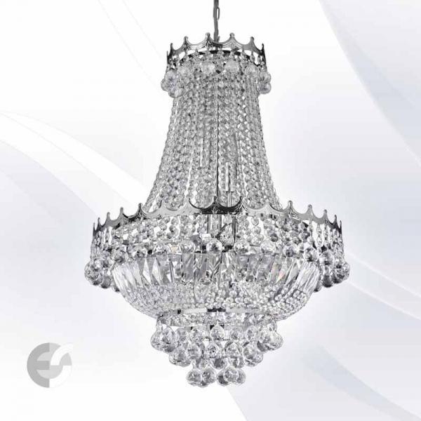 VERSAILLES 9112-52CC candelabre cristal diametru 55 cm 9 becuri 0
