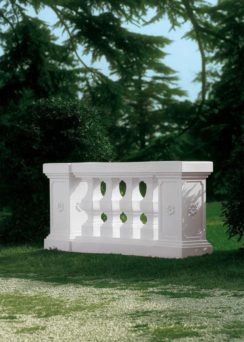 Balustrada modulara 116 x 35 x 87 cm 0