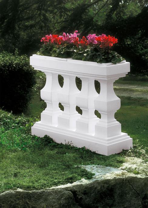 Balustrada cu flori 116 x 35 x 87 cm 0