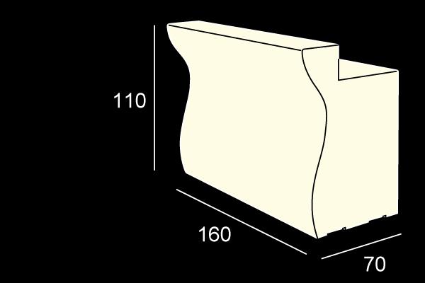 BARTOLOMEO bar modular luminos pentru interior exterior 1