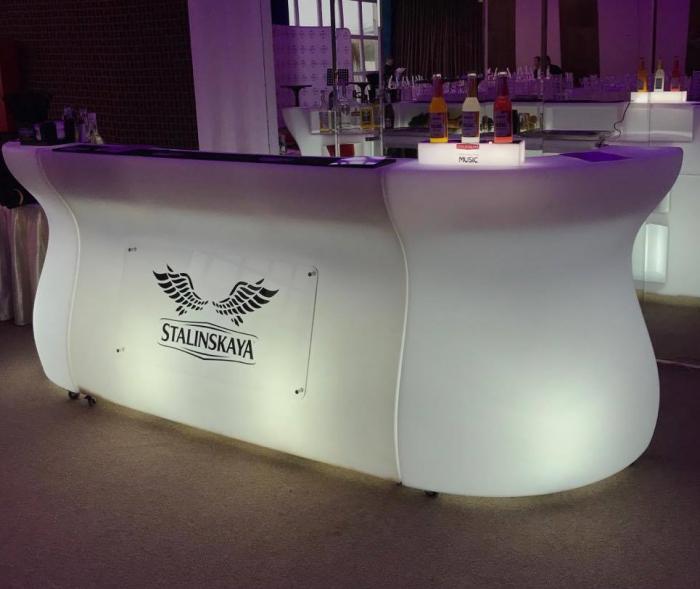 BARTOLOMEO bar modular luminos pentru interior exterior 4