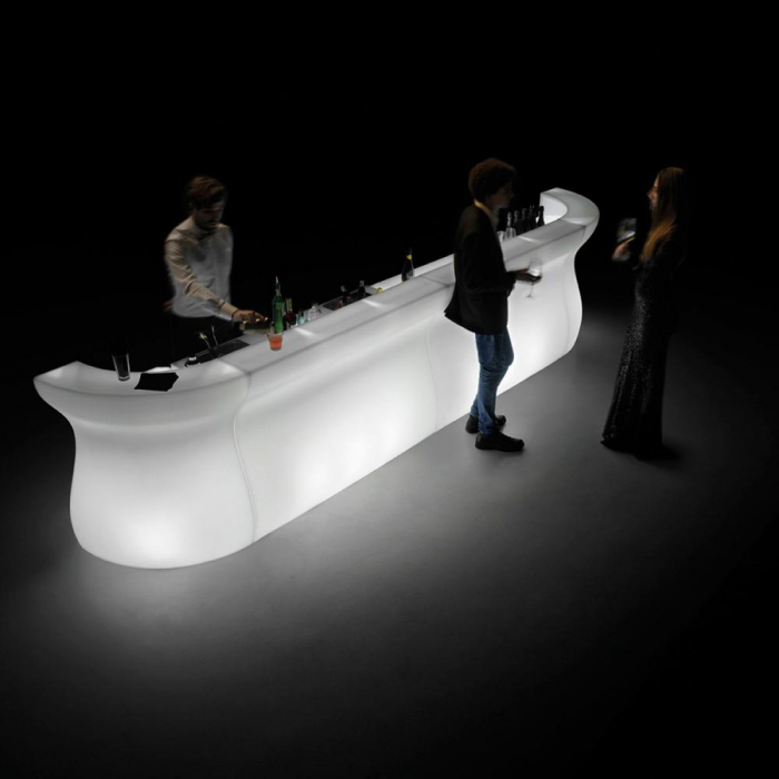 BARTOLOMEO bar modular luminos pentru interior exterior 3