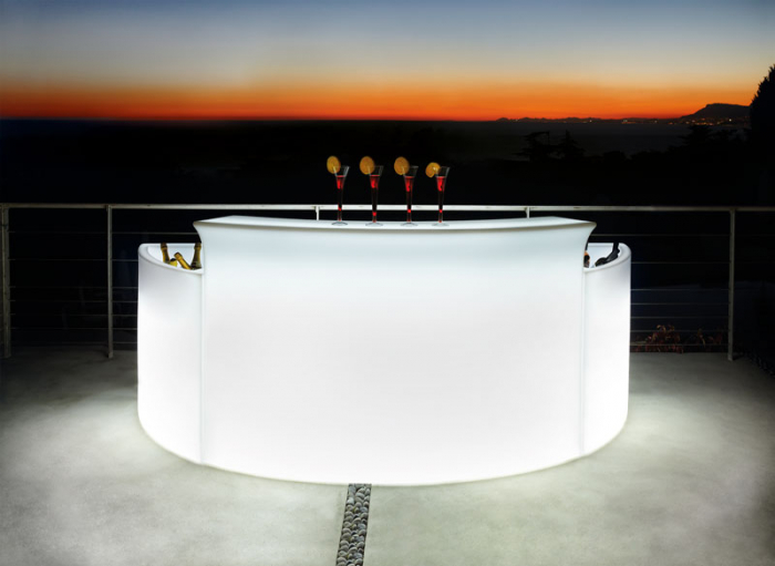 BREAK BAR bar modular luminos pentru interior exterior 5