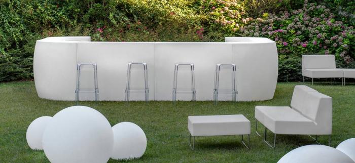 IGLOO bar modular luminos pentru interior exterior 2