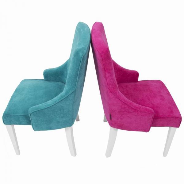 RIOFRIO scaune tapitate cadru lemn 5