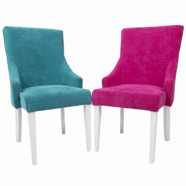 RIOFRIO scaune tapitate cadru lemn 6