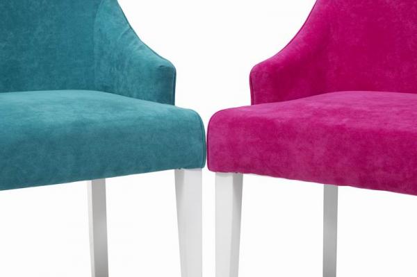 RIOFRIO scaune tapitate cadru lemn 7