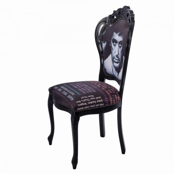 EVO_189 scaun lemn masiv fag complet tapitat sezut si spatar 2