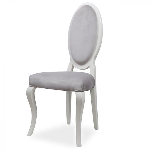 EVO_1156 scaune clasice din lemn sezut si spatar tapitate 0