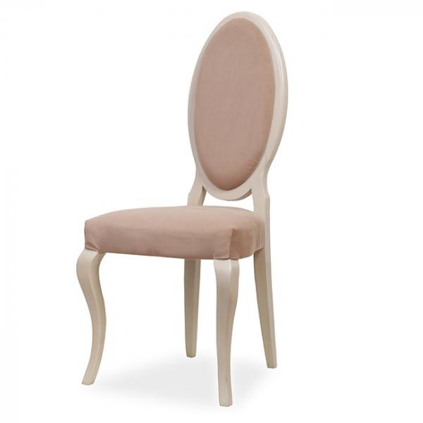 EVO_1156 scaune clasice din lemn sezut si spatar tapitate 1