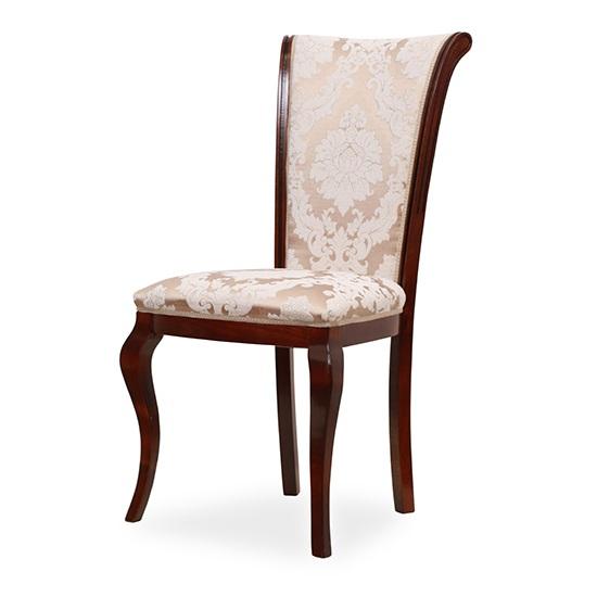 EVO_1157 scaune clasice din lemn cu sezut tapitat 0