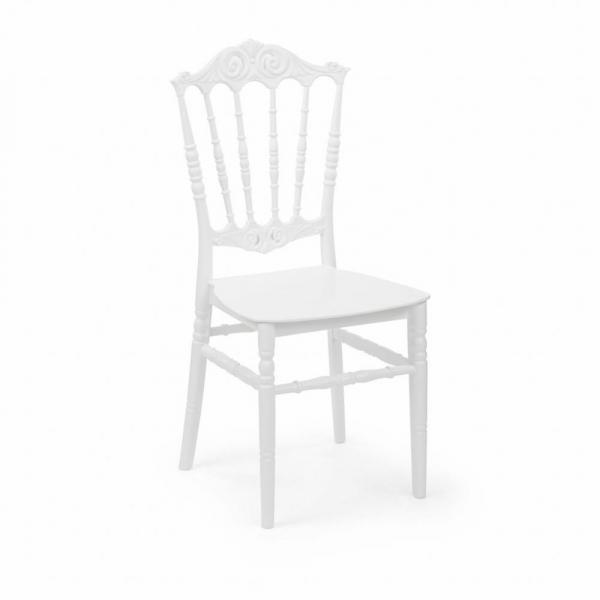 ELITE alb scaune plastic evenimente 0