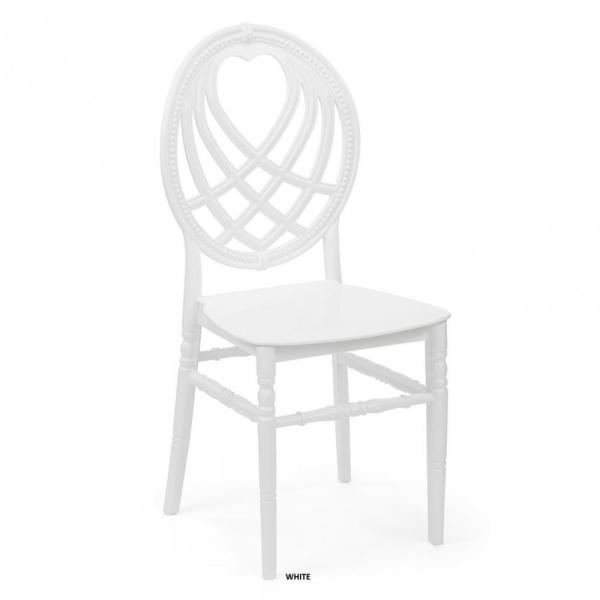 OXO alb scaun plastic evenimente 0