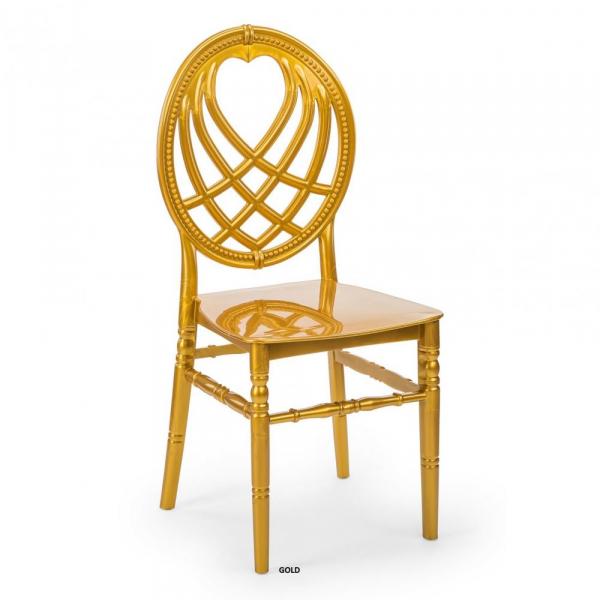 OXO auriu scaun plastic evenimente 0