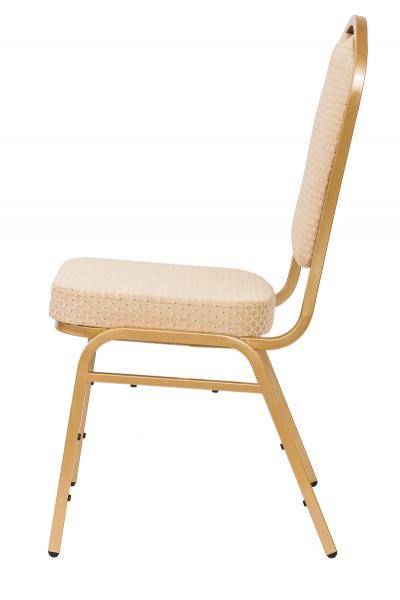 MXT ST314 scaune pentru conferinta si training  suprapozabile cadru auriu [1]