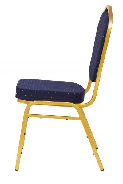 MXT ST370 scaune pentru conferinta si training suprapozabile cadru auriu [1]
