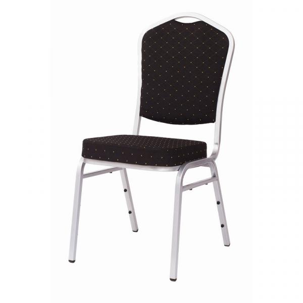 MXT ST390 scaune pentru evenimente si conferinta suprapozabile cadru argintiu 0