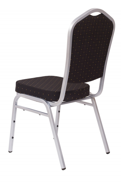 MXT ST390 scaune pentru evenimente si conferinta suprapozabile cadru argintiu [2]