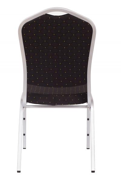 MXT ST390 scaune pentru evenimente si conferinta suprapozabile cadru argintiu [3]