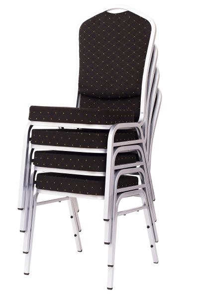 MXT ST390 scaune pentru evenimente si conferinta suprapozabile cadru argintiu [7]