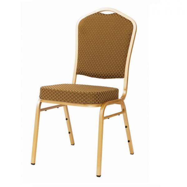 MXT ST633 scaune pentru evenimente si conferinta suprapozabile cadru auriu 0