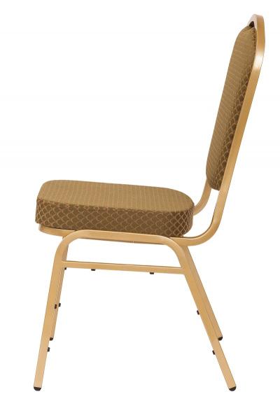 MXT ST633 scaune pentru evenimente si conferinta suprapozabile cadru auriu 1
