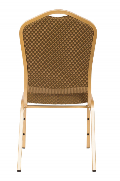 MXT ST633 scaune pentru evenimente si conferinta suprapozabile cadru auriu 2