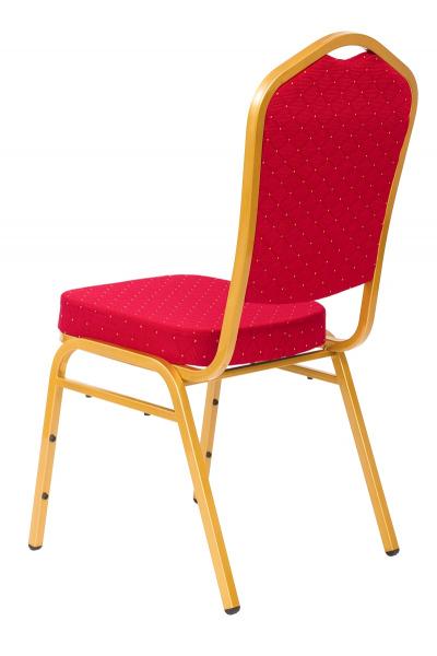 MXT ST220 scaune pentru evenimente conferinta si training  suprapozabile cadru auriu 2