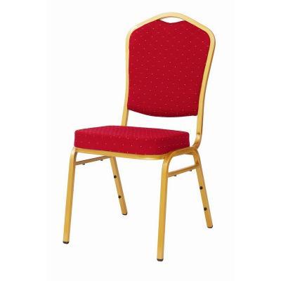 MXT ST220 scaune pentru evenimente conferinta si training  suprapozabile cadru auriu 0