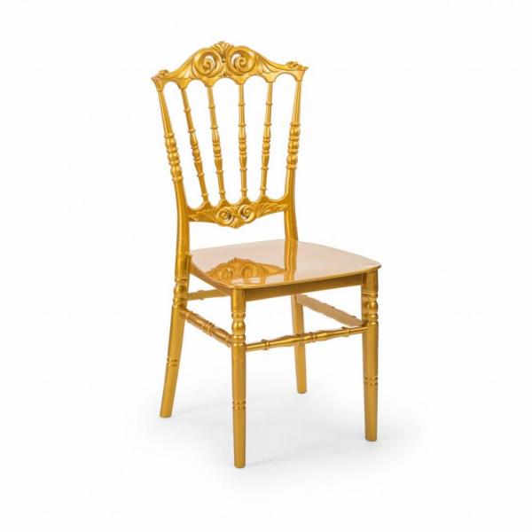 ELITE auriu scaune plastic evenimente 0