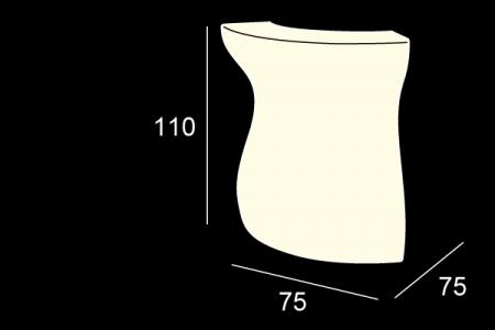 BARTOLOMEO colt bar luminos modular pentru interior / exterior1