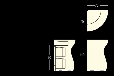 BARTOLOMEO colt bar luminos modular pentru interior / exterior2