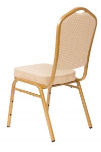 MXT ST314 scaune pentru conferinta si training  suprapozabile cadru auriu [2]
