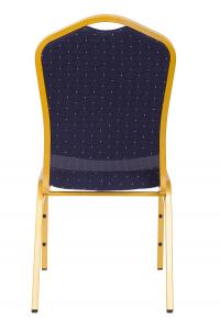MXT ST370 scaune pentru conferinta si training suprapozabile cadru auriu [2]