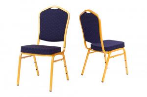 MXT ST370 scaune pentru conferinta si training suprapozabile cadru auriu [3]