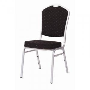 MXT ST390 scaune pentru evenimente si conferinta suprapozabile cadru argintiu0