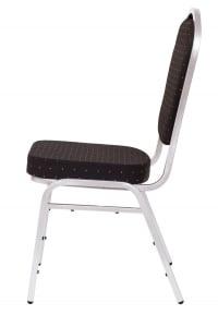 MXT ST390 scaune pentru evenimente si conferinta suprapozabile cadru argintiu1