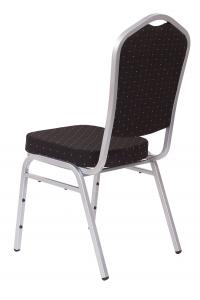 MXT ST390 scaune pentru evenimente si conferinta suprapozabile cadru argintiu2