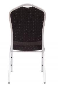 MXT ST390 scaune pentru evenimente si conferinta suprapozabile cadru argintiu3