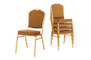 MXT ST633 scaune pentru evenimente si conferinta suprapozabile cadru auriu3