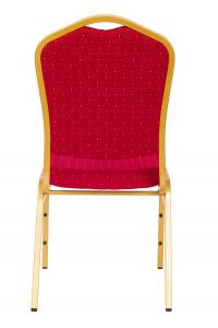MXT ST220 scaune pentru evenimente conferinta si training  suprapozabile cadru auriu3