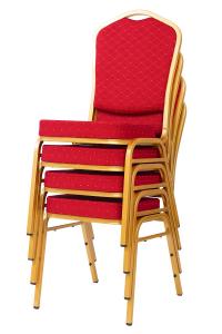 MXT ST220 scaune pentru evenimente conferinta si training  suprapozabile cadru auriu6