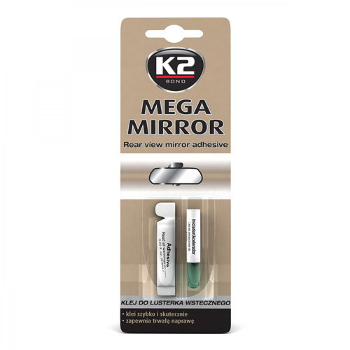 Adeziv pentru lipit oglinda retrovizoare Mega Mirror K2 0,6ml [0]